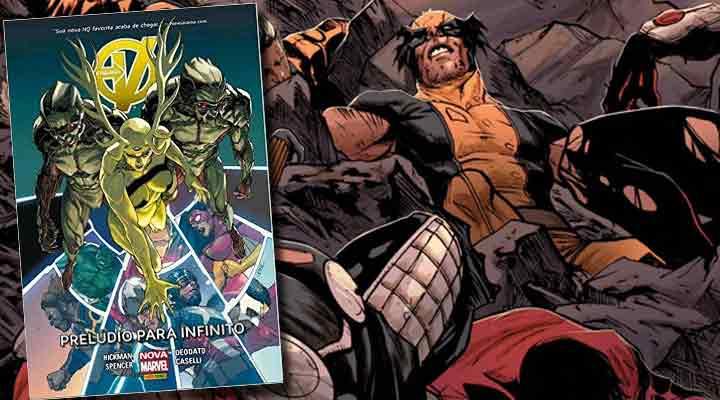 Vingadores Prelúdio para Infinito é mais um encadernado do supergrupo da Marvel