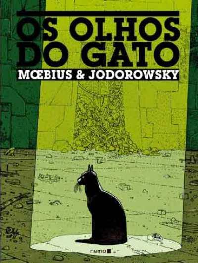 Os Olhos do Gato, de Jodorowsky e Moebius
