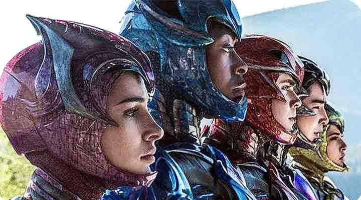Destaque para o filme Power Rangers nas Estreias nos Cinemas - 23/03