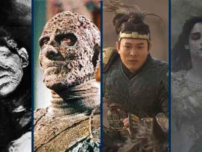 A Mumia no cinema através das décadas