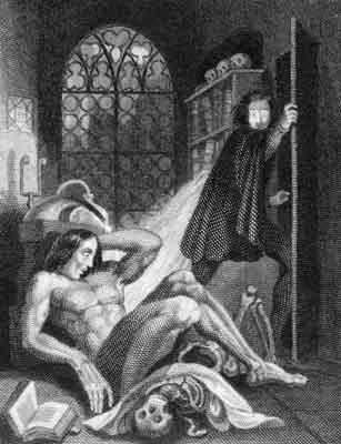 Frankenstein de Mary Shelley é considerado o primeiro romance moderno de ficção - científica
