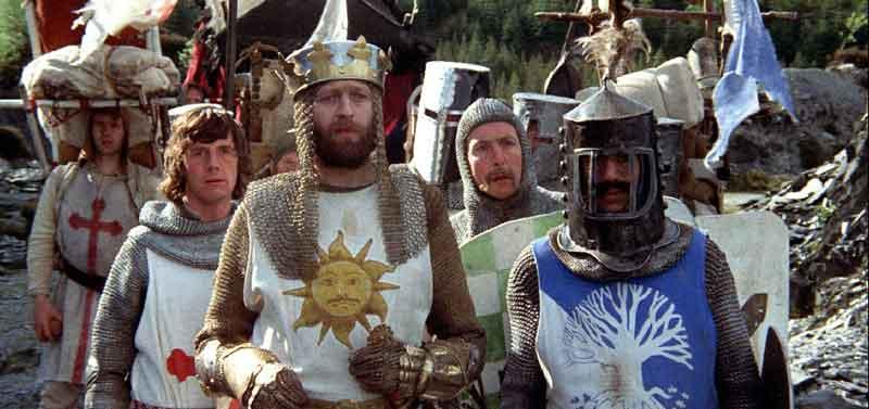 Monty Python Em Busca do Cálice Sagrado no Formiga na Tela