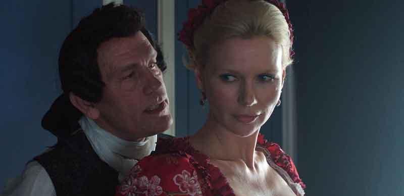 Variações de Casanova, com John Malkovich.