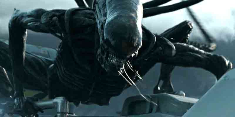 O xenomorfo repaginado em Alien: Covenant