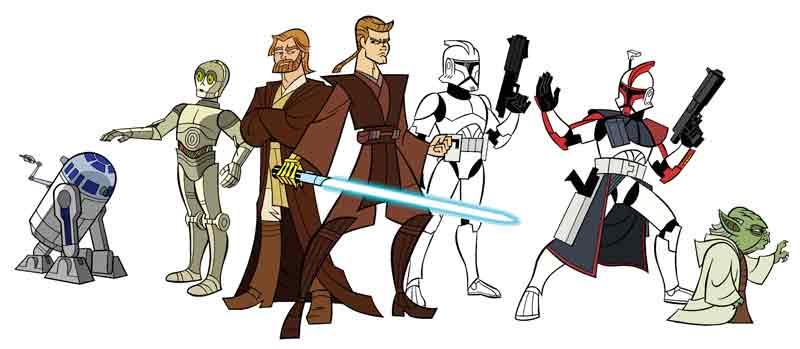 Star Wars: Clone Wars, uma das melhores coisas já feitas com a saga!