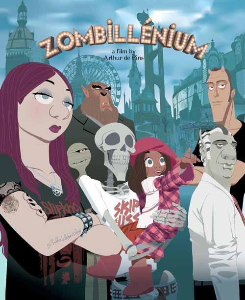 Zombillénium - banda desenhada franco-belga ganha longa de animação.
