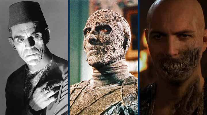 Três versões de A Múmia