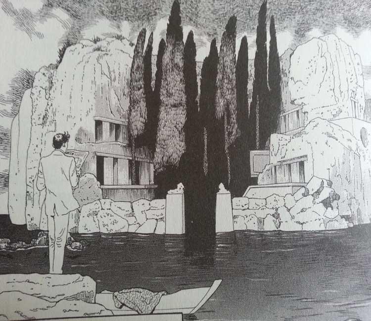 ilha dos mortos