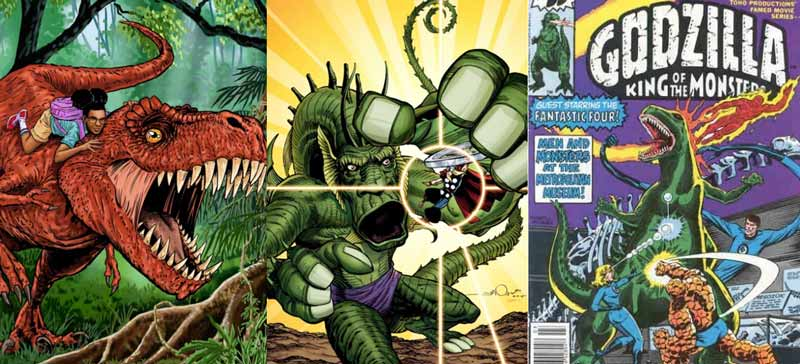 Monstro Gigante Marvel