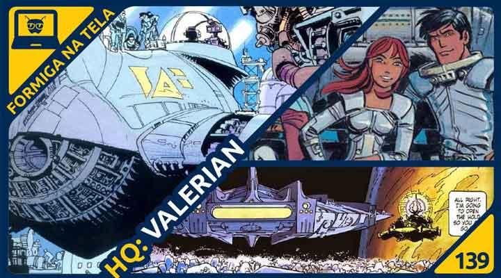A HQ Valerian no Formiga na Tela