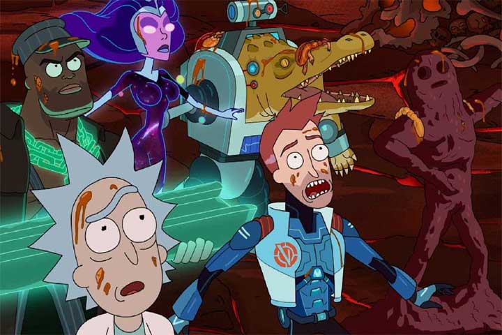 Rick and Morty 3 Temporada