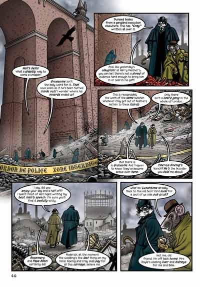 Dark Horse Comics libera prévia de Grandville: Force Majeure