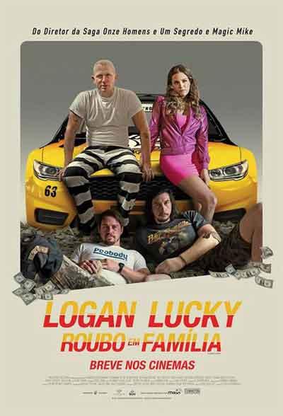 Crítica de Logan Lucky: Roubo em Família