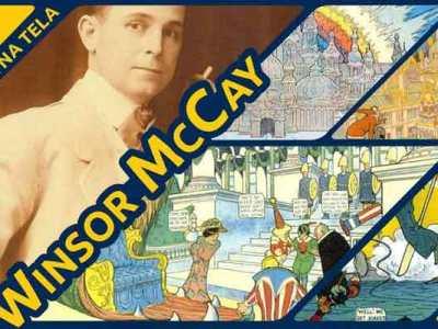 Winsor McCay na pauta do Formiga na Tela