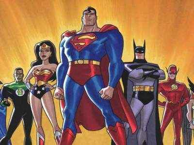 Top 10 desenho da Liga da Justiça