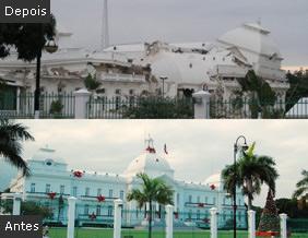 Palácio do governo (Foto: reprodução da internet - http://twitpic.com/photos/LisandroSuero)