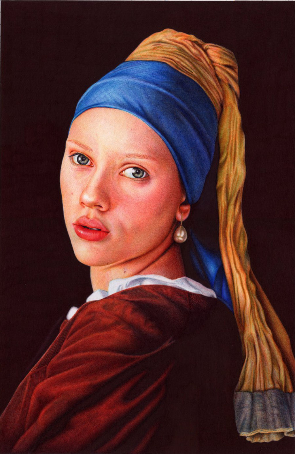 Outras incríveis pinturas feitas com caneta Bic de Samuel Silva 06