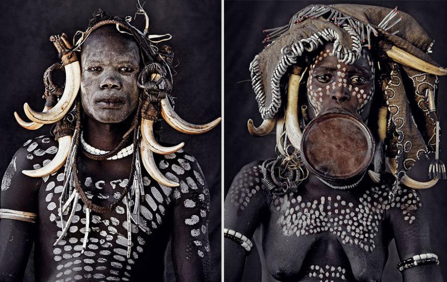 A vida de tribos que estão desaparecendo pelo mundo 31