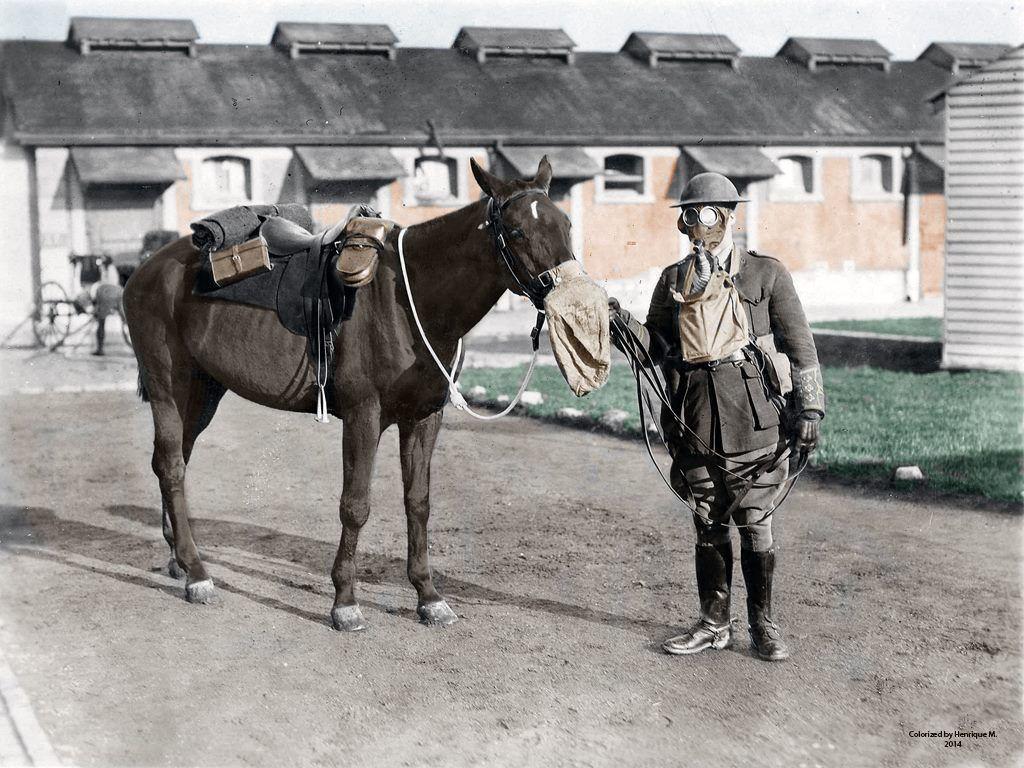 Fotos colorizadas trazem Primeira Guerra à vida 01