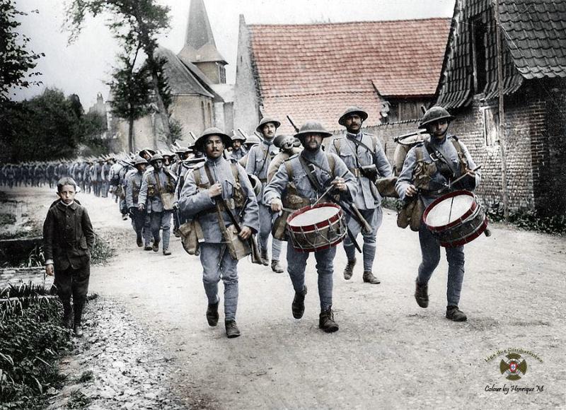 Fotos colorizadas trazem Primeira Guerra à vida 02