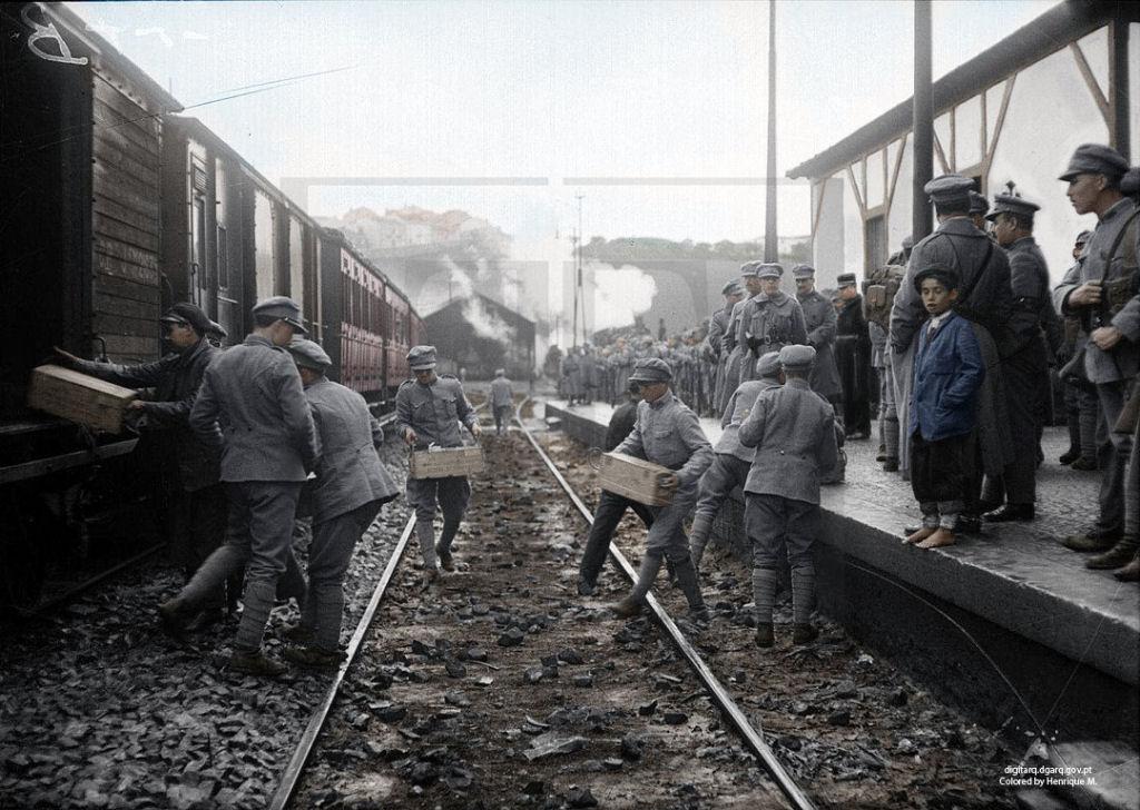 Fotos colorizadas trazem Primeira Guerra à vida 05