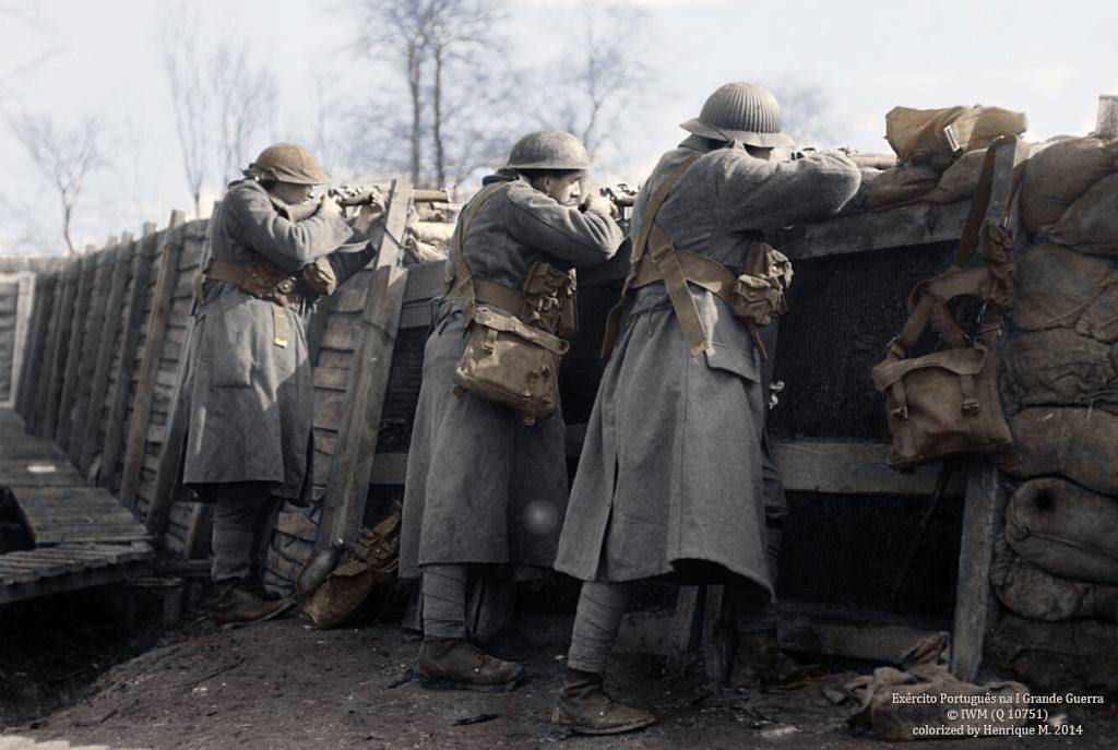 Fotos colorizadas trazem Primeira Guerra à vida 19