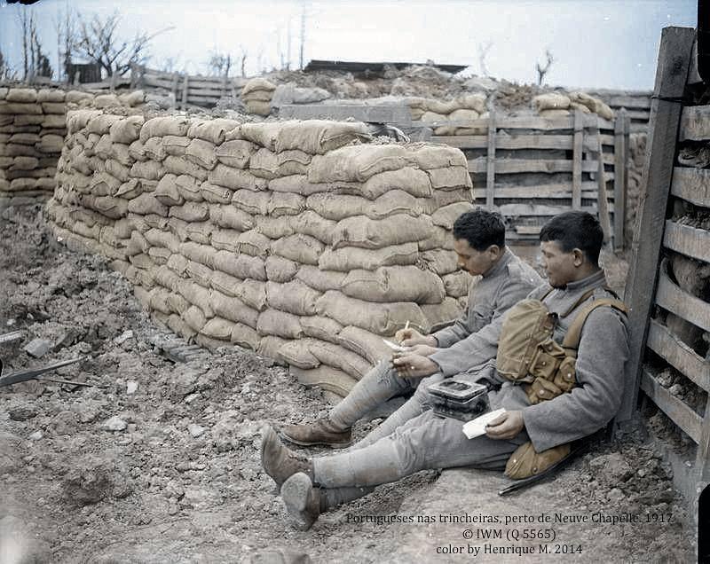 Fotos colorizadas trazem Primeira Guerra à vida 23