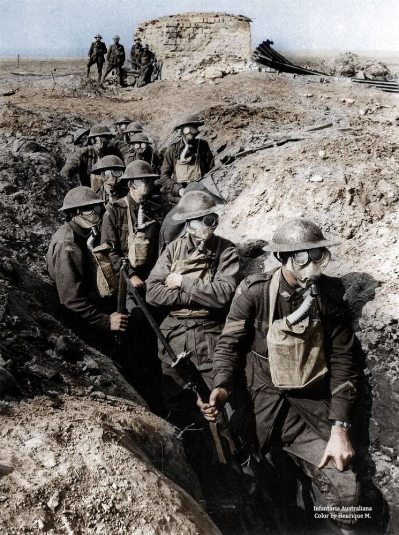 Fotos colorizadas trazem Primeira Guerra à vida 26