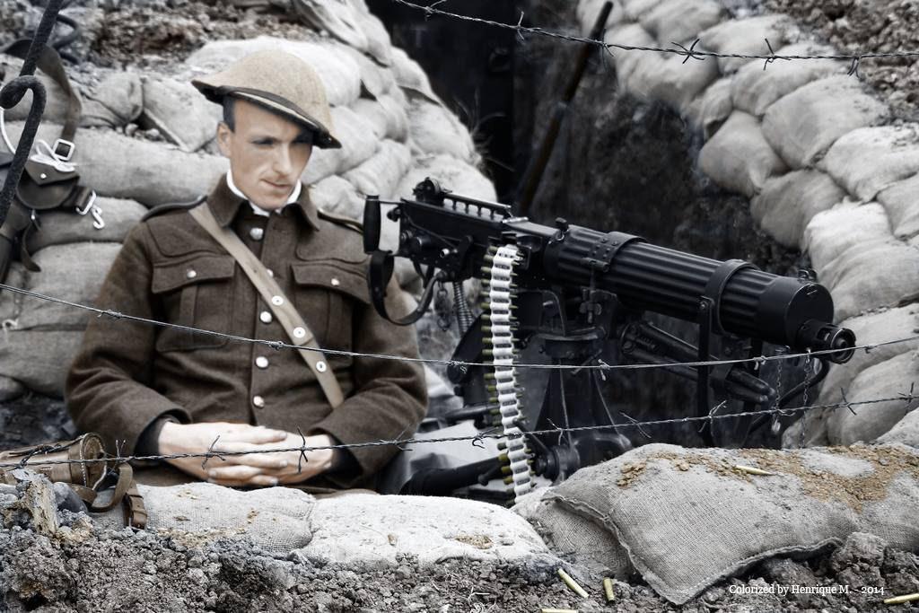 Fotos colorizadas trazem Primeira Guerra à vida 27