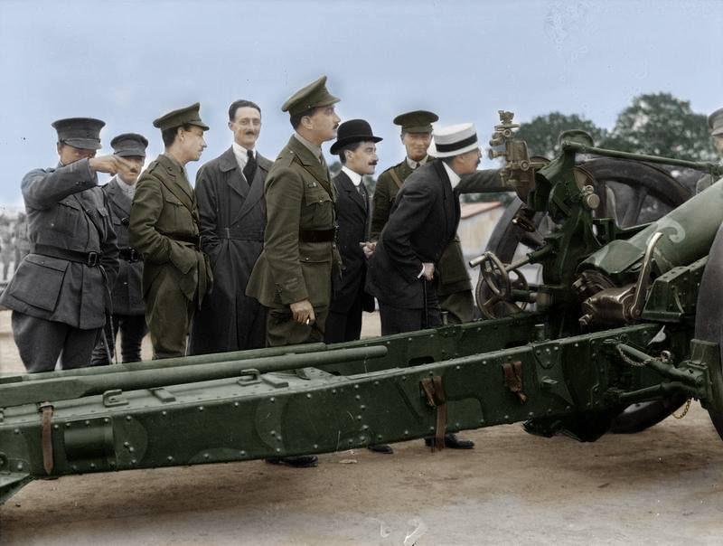 Fotos colorizadas trazem Primeira Guerra à vida 28