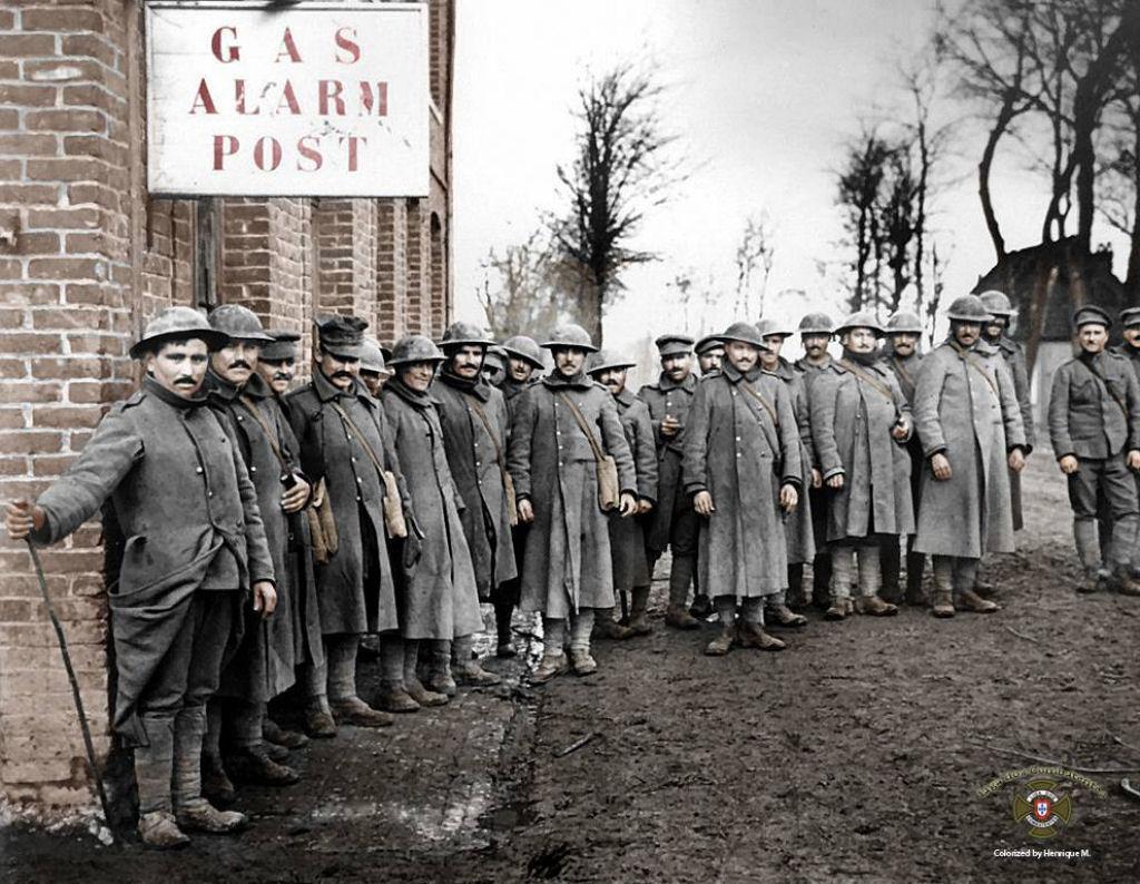 Fotos colorizadas trazem Primeira Guerra à vida 35