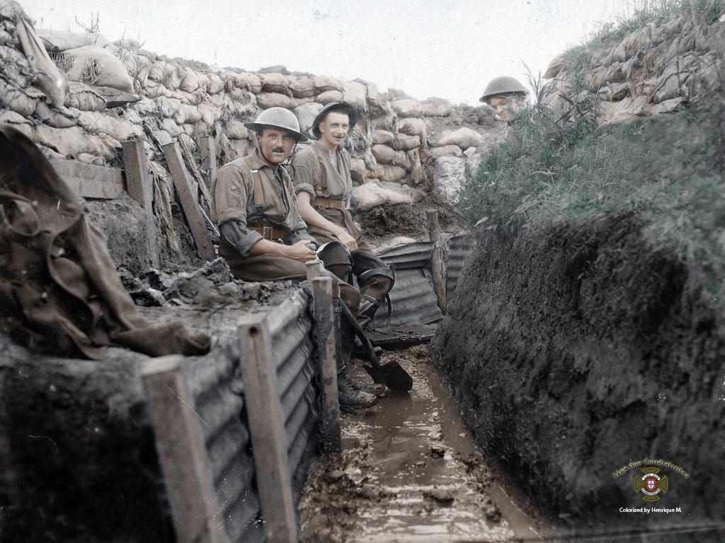 Fotos colorizadas trazem Primeira Guerra à vida 40