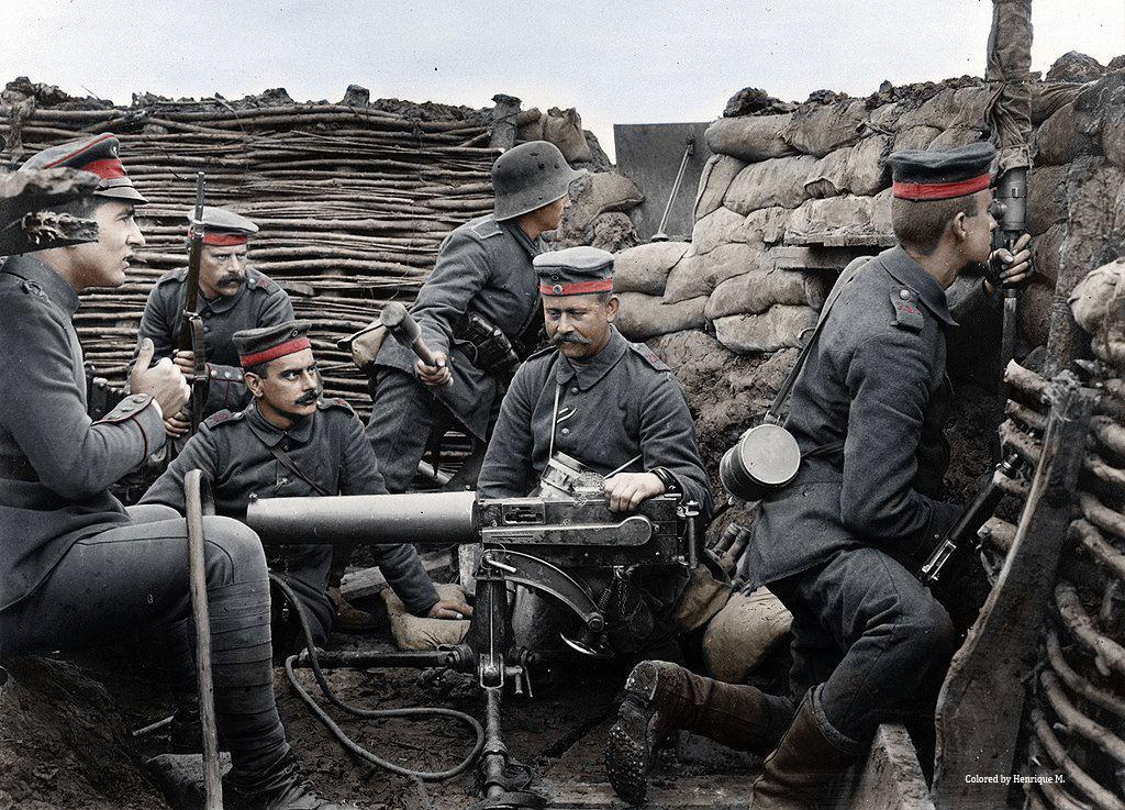 Fotos colorizadas trazem Primeira Guerra à vida 41