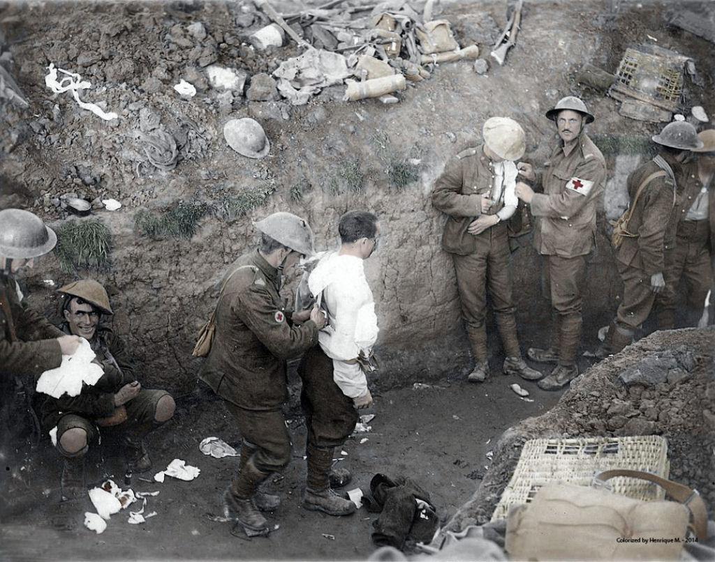 Fotos colorizadas trazem Primeira Guerra à vida 44