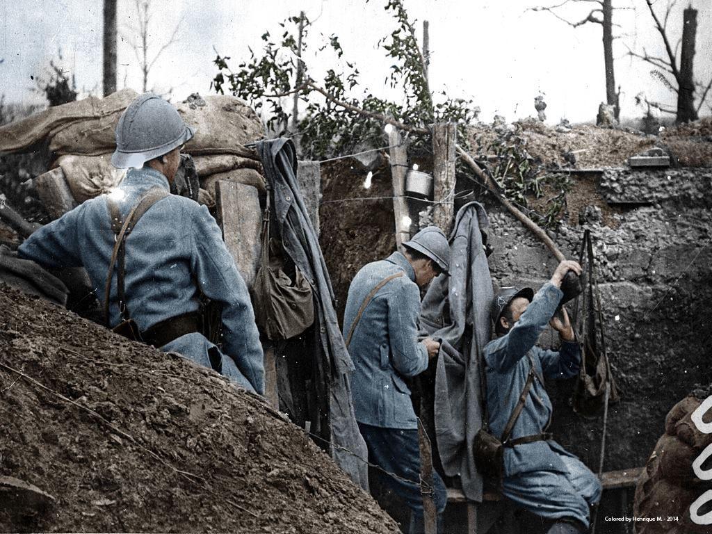 Fotos colorizadas trazem Primeira Guerra à vida 45
