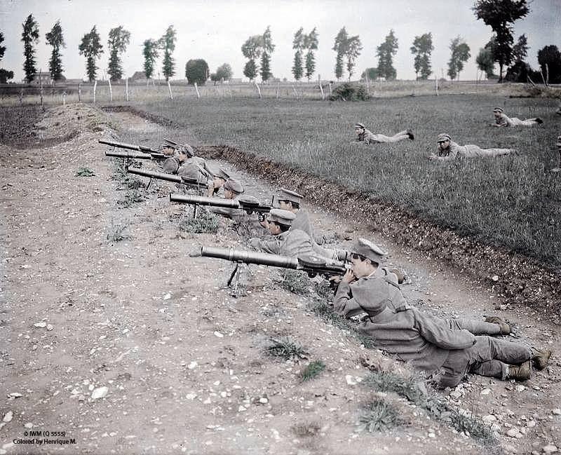 Fotos colorizadas trazem Primeira Guerra à vida 47