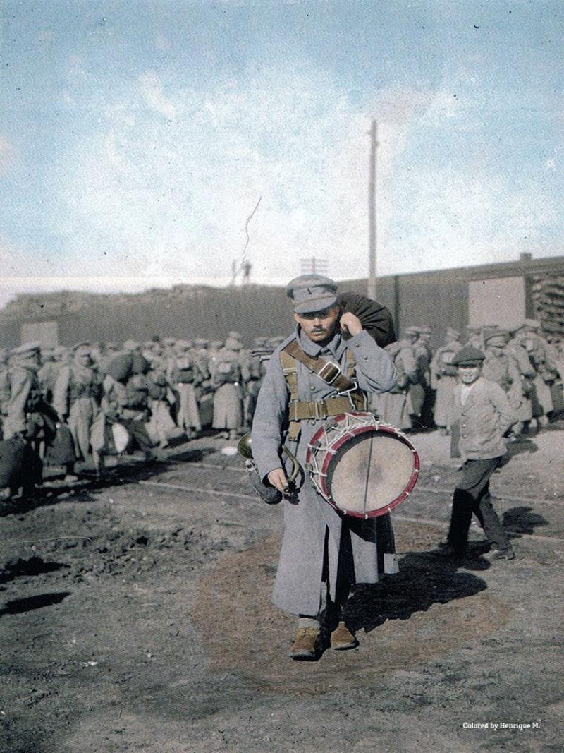 Fotos colorizadas trazem Primeira Guerra à vida 49