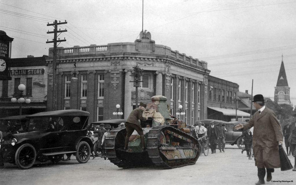 Fotos colorizadas trazem Primeira Guerra à vida 50