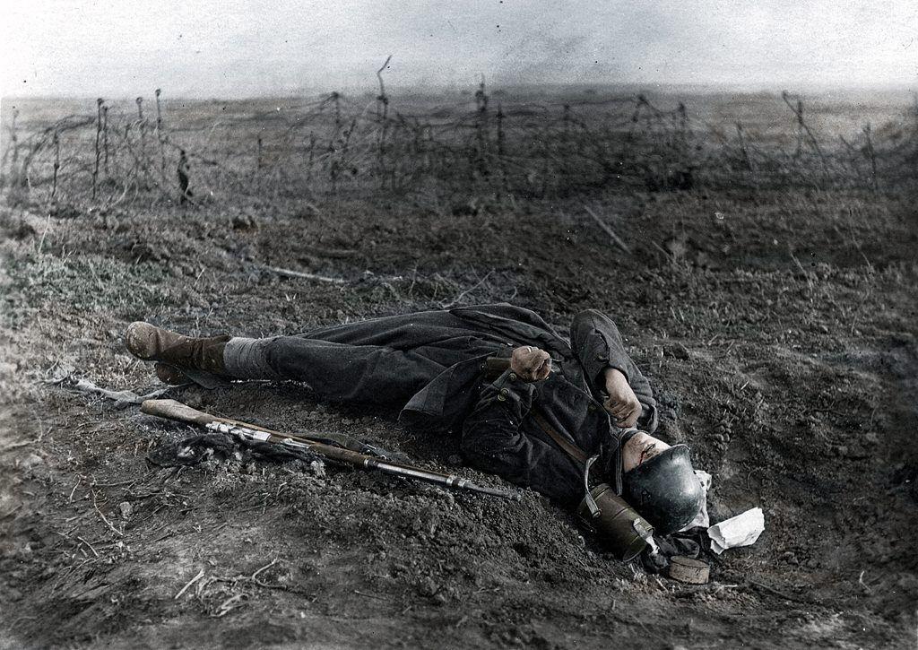 Fotos colorizadas trazem Primeira Guerra à vida 54