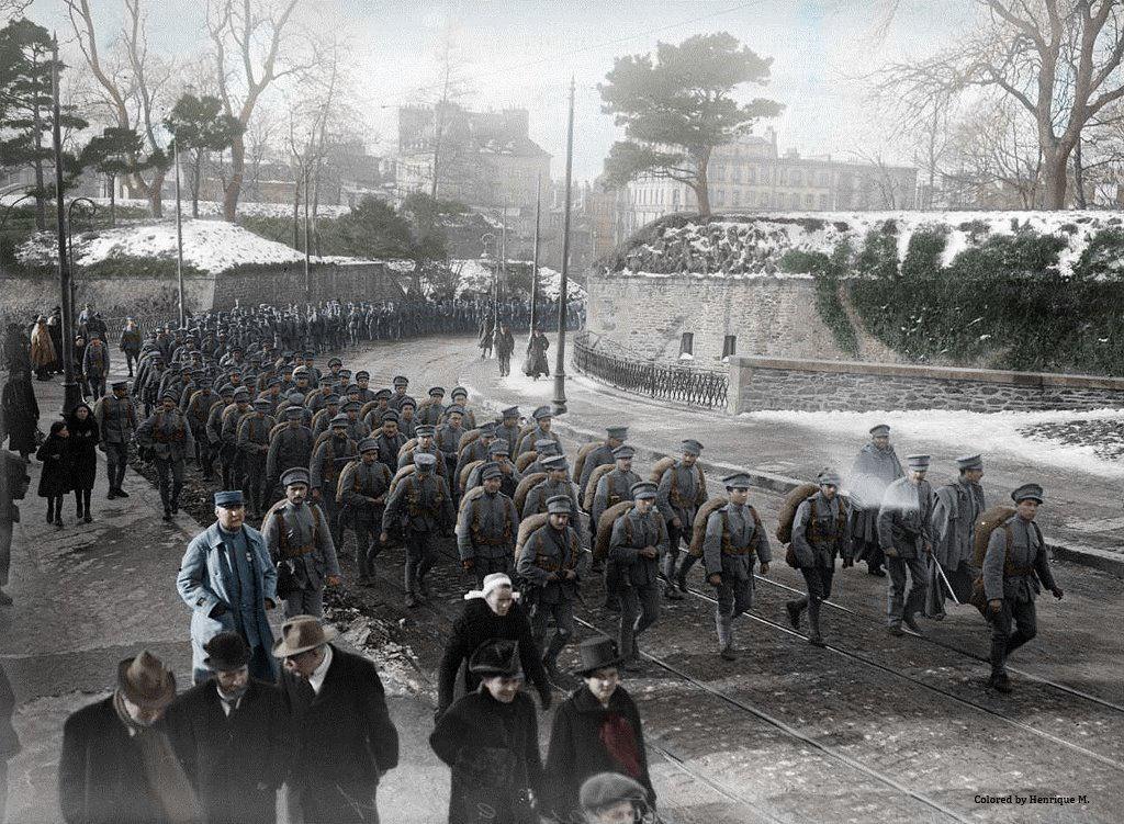 Fotos colorizadas trazem Primeira Guerra à vida 61