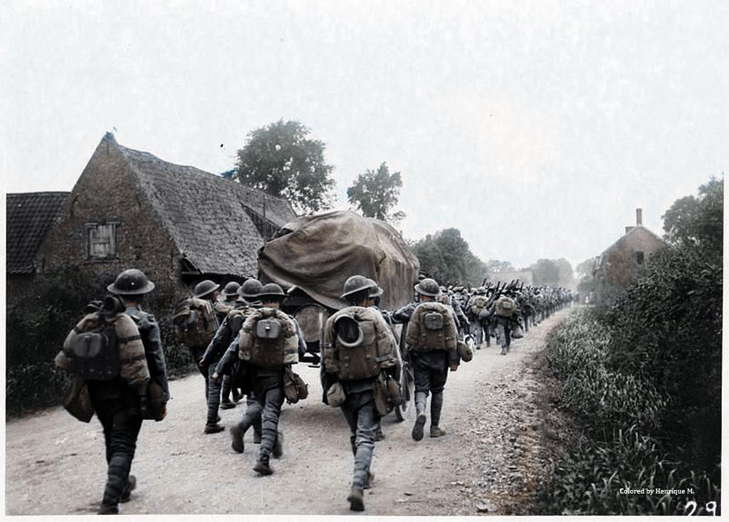 Fotos colorizadas trazem Primeira Guerra à vida 62