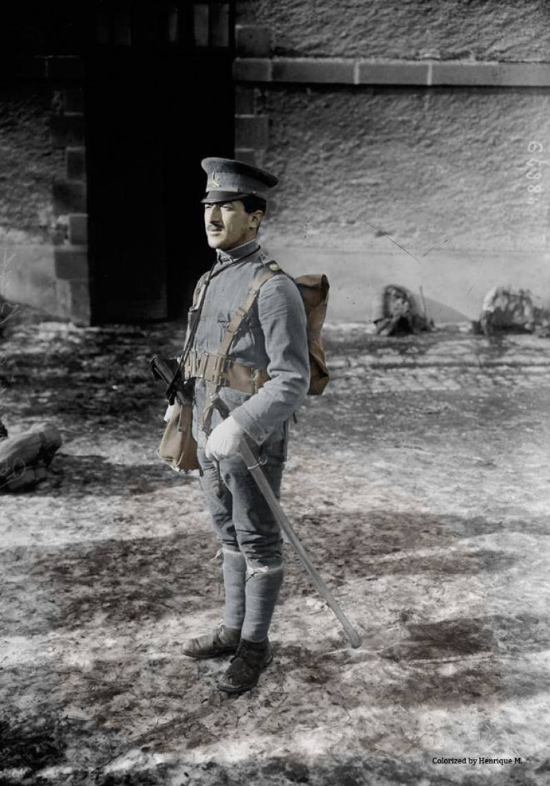 Fotos colorizadas trazem Primeira Guerra à vida 65