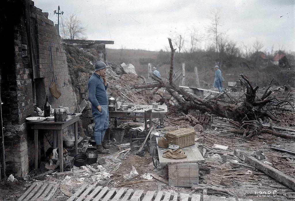 Fotos colorizadas trazem Primeira Guerra à vida 66