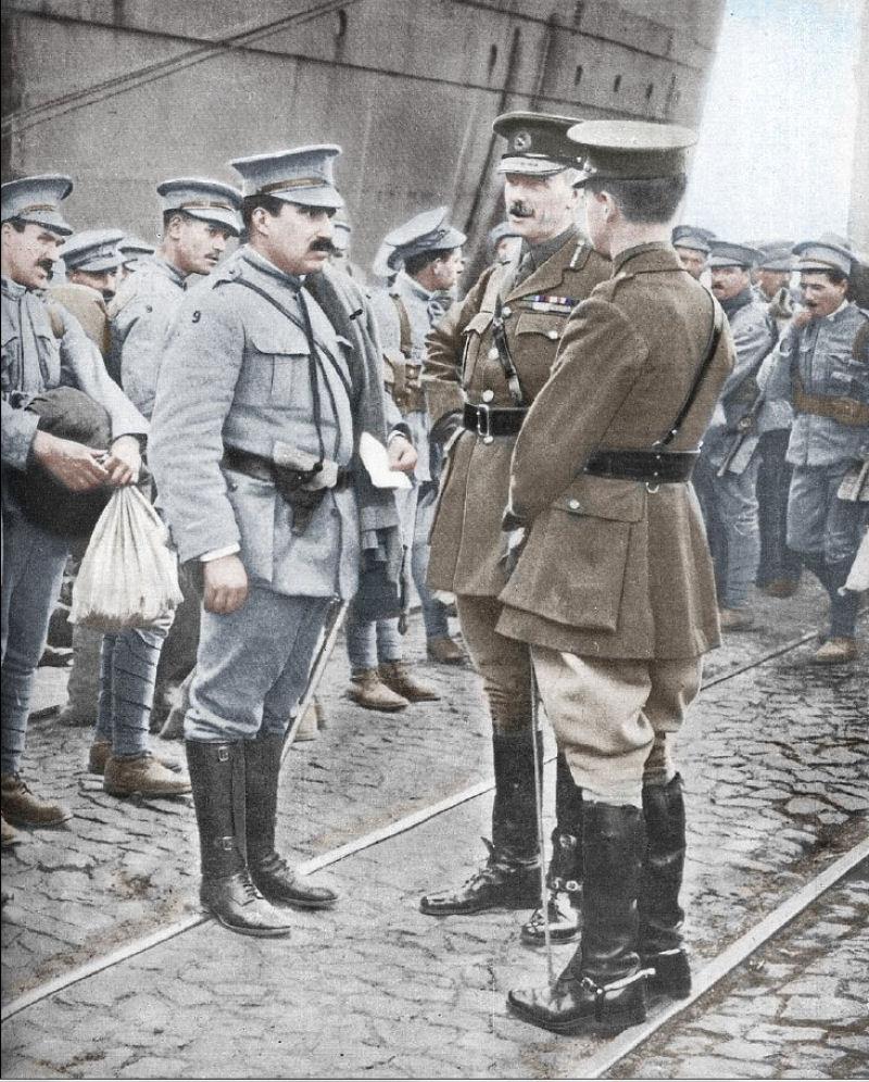 Fotos colorizadas trazem Primeira Guerra à vida 69