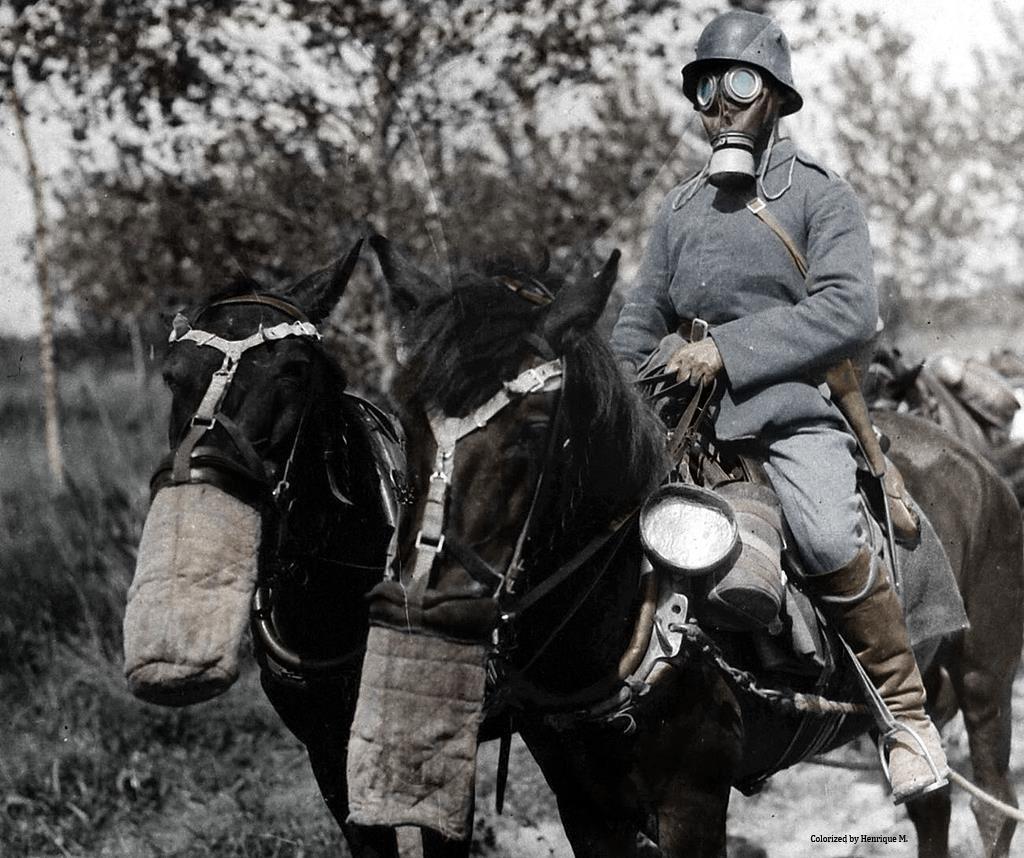 Fotos colorizadas trazem Primeira Guerra à vida 76