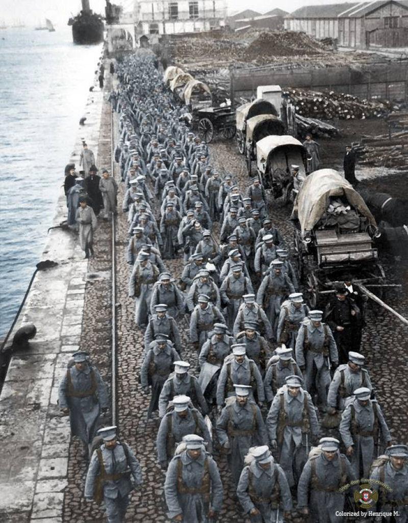Fotos colorizadas trazem Primeira Guerra à vida 81