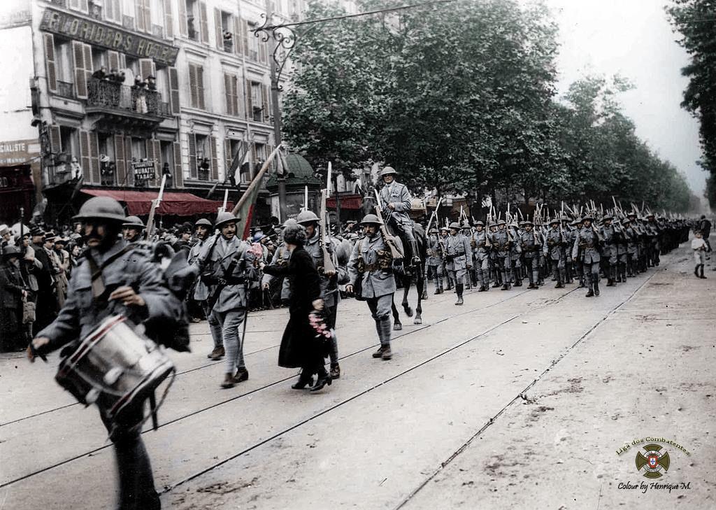 Fotos colorizadas trazem Primeira Guerra à vida 87