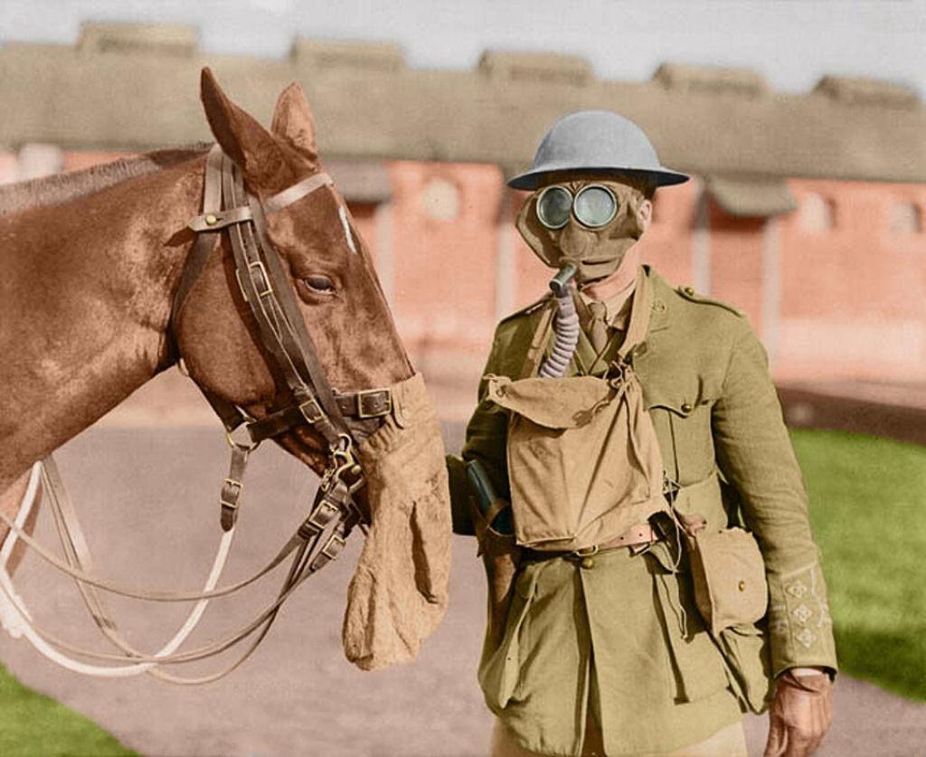 Fotos colorizadas trazem Primeira Guerra à vida 91