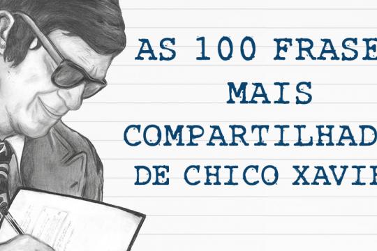 As 100 Frases Mais Compartilhadas De Chico Xavier