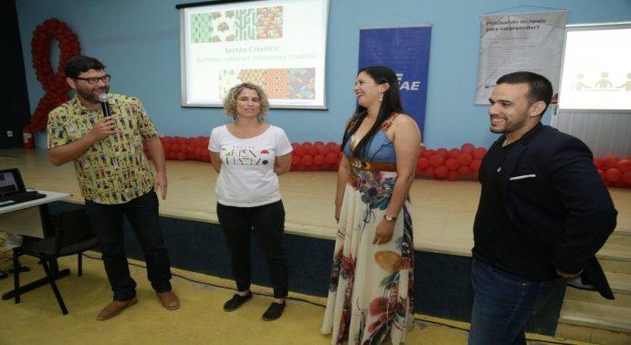 O evento foi promovido pelo SEBRAE e SENAC, com apoio, além da Prefeitura, da CDL e SINDICOM.